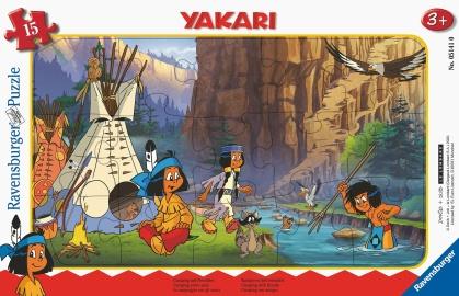 Yakari: Camping mit Freunden - 15 Teile Puzzle