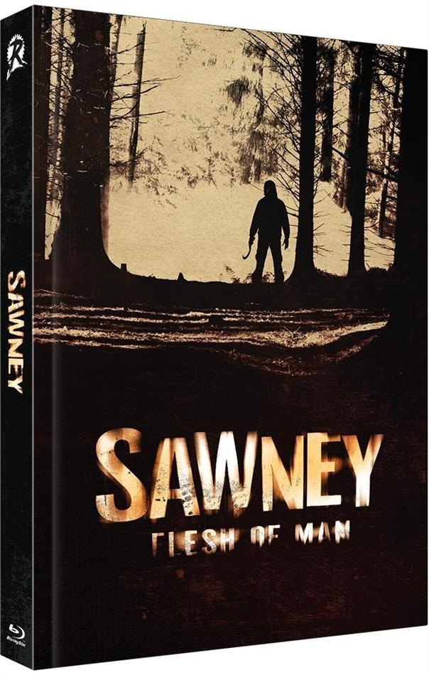 Sawney - Flesh of Man (2012) (Cover B, Limited Edition, Mediabook, Uncut, Blu-ray + DVD)