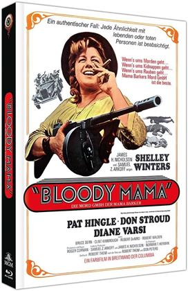 Bloody Mama (1970) (Cover A, Limited Collector's Edition, Mediabook, Blu-ray + DVD)