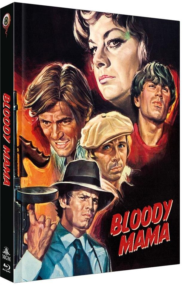 Bloody Mama (1970) (Cover B, Limited Collector's Edition, Mediabook, Blu-ray + DVD)