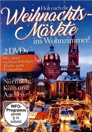Holt euch die Weihnachtsmärkte ins Wohnzimmer! (2 DVDs)