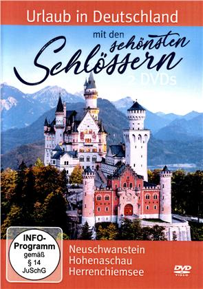 Urlaub in Deutschland mit den schönsten Schlössern (2 DVDs)