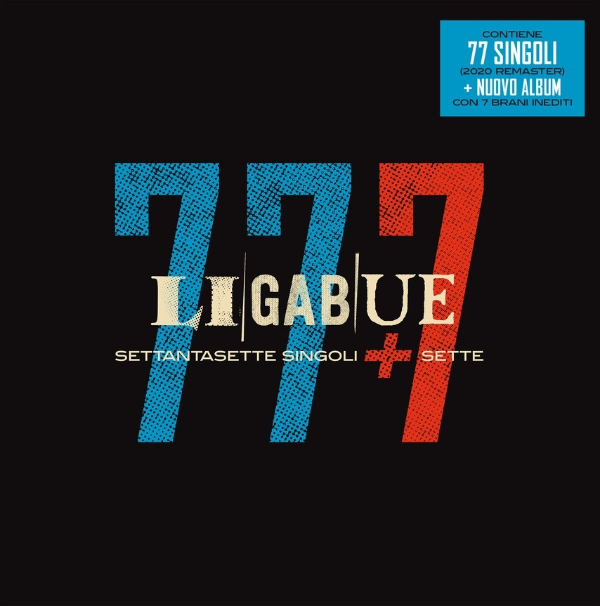 Ligabue - 77 Singoli + 7 (Boxset, 8 CDs)
