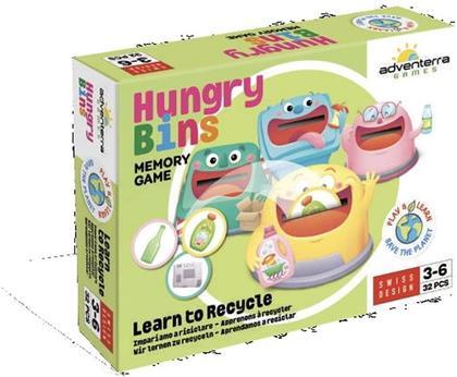 Hungry Bins - Wir lernen zu recyclen