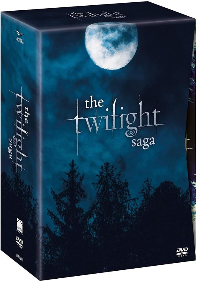 The Twilight Saga - Exclusive Collection (Digibook, 12 DVD)