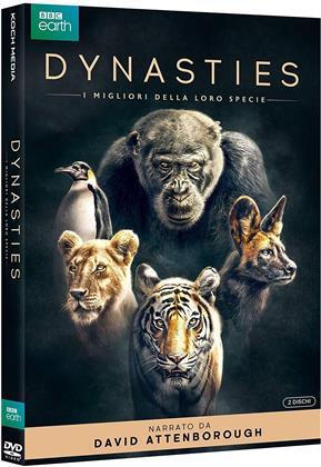 Dynasties - I migliori della loro specie (2018) (BBC Earth, 2 DVDs)