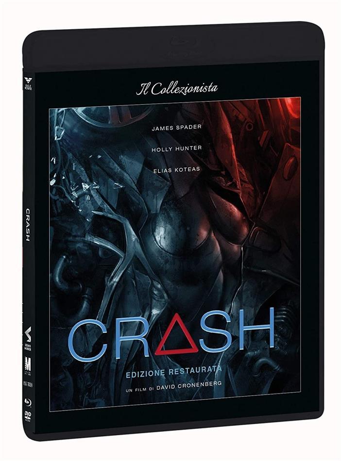 Crash (1996) (Il Collezionista, Restaurierte Fassung, Blu-ray + DVD)