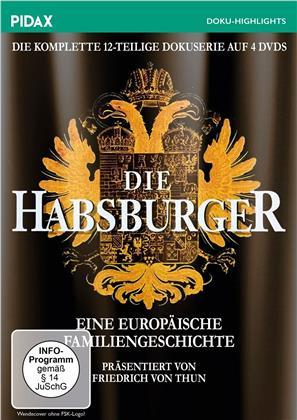 Die Habsburger - Eine europäische Familiengeschichte - Die komplette 12-teilige Serie (Pidax Doku-Highlight, 4 DVDs)
