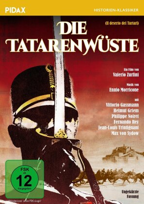 Die Tatarenwüste - (Le désert des tartares) (1976) (Pidax Historien-Klassiker)