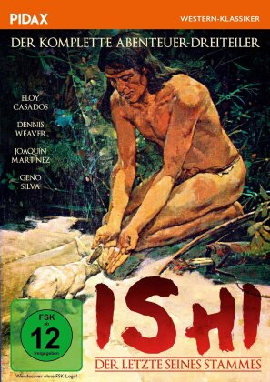 Ishi - Der Letzte seines Stammes / Der komplette Abenteuer-Dreiteiler (1978) (Pidax Western-Klassiker)