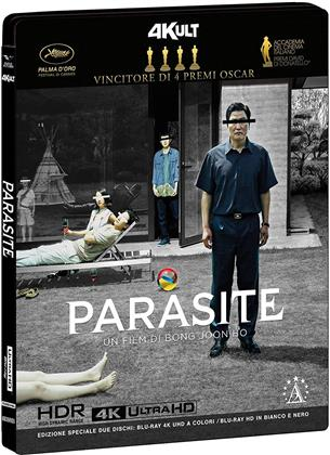 Parasite (2019) (4Kult, s/w, Special Edition, 4K Ultra HD + Blu-ray)