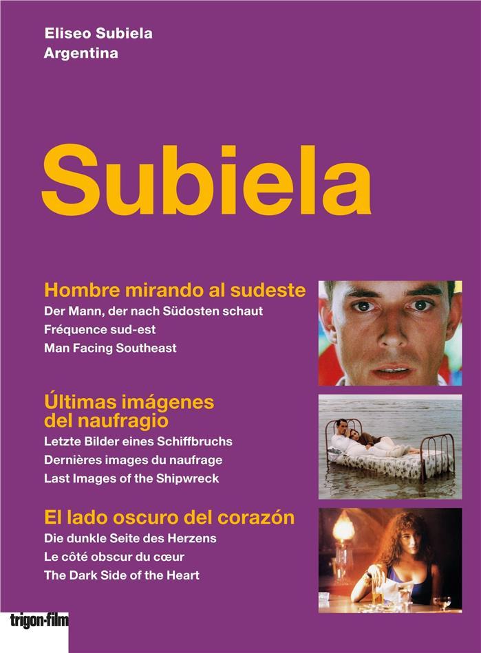 Subiela - Hombre mirando al sudeste / Últimas imágenes del naufragio / El lado oscuro del corazón (Trigon-Film, 3 DVDs)