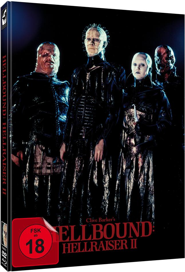 Hellbound - Hellraiser 2 (1988) (Cover A, Limited Edition, Mediabook, Uncut, Blu-ray + DVD)