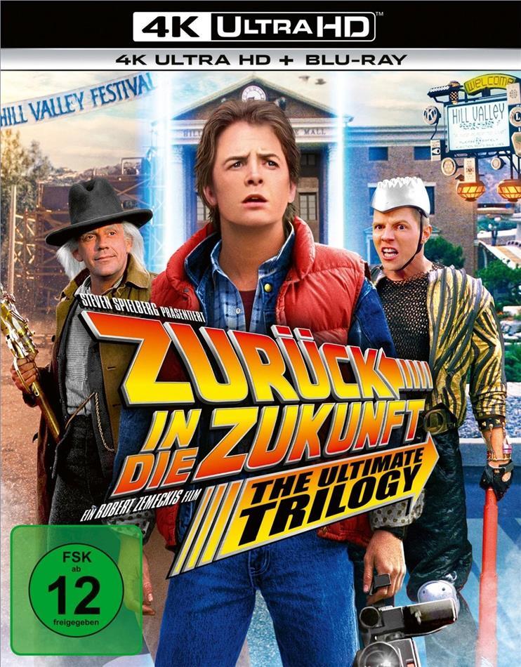 Zurück in die Zukunft - Trilogie (3 4K Ultra HDs + 3 Blu-rays)