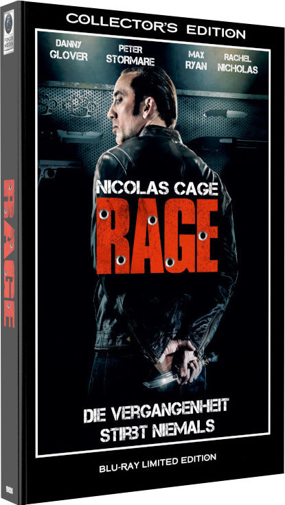 Rage - Die Vergangenheit stirbt niemals (2014) (Hartbox, Limited Collector's Edition)