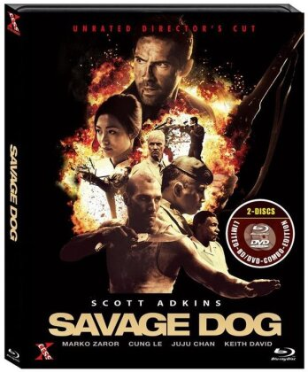 Savage Dog (2017) (Director's Cut, Unrated, Blu-ray + DVD)