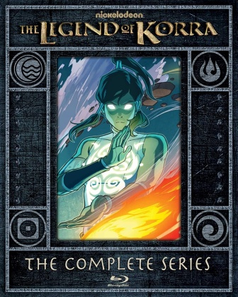 The Legend Of Korra - The Complete Series (Limited Edition, Steelbook, 4 Blu-rays)