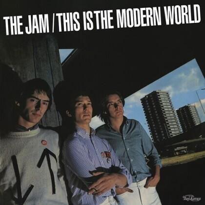 The Jam - This Is The Modern World (2021 Reissue, Vinyl Lovers, + Bonustrack, Clear Vinyl, LP)