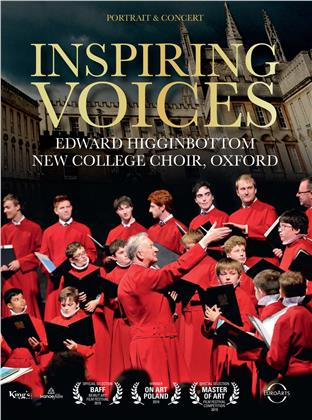 New College Choir Oxford & Edward Higginbottom - Inspiring Voices (2 DVDs + 2 CDs)