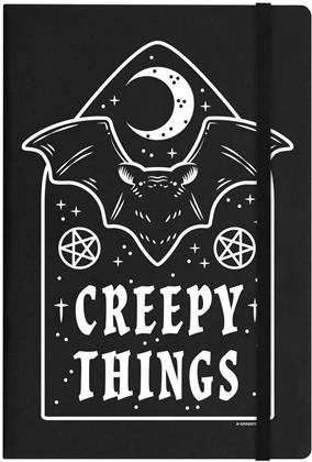 Creepy Things - A5 Hard Cover Notebook