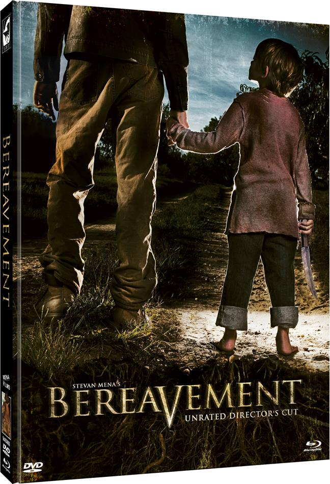 Bereavement (2011) (Cover B, Director's Cut, Limited Edition, Mediabook, Unrated, Blu-ray + DVD)