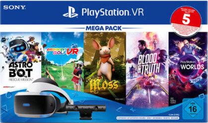 Playstation 4 VR Mega Pack 3 + Kamera + 5 Games
