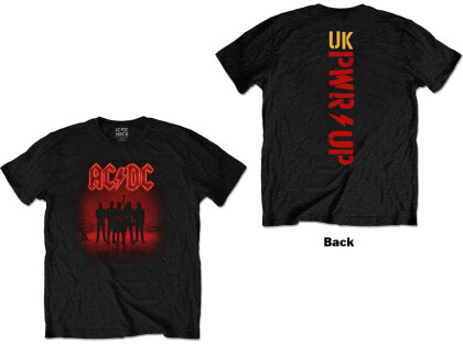 AC/DC Unisex Tee - PWR-UP (Back Print)