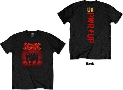 AC/DC Unisex Tee - PWR-UP (Back Print)