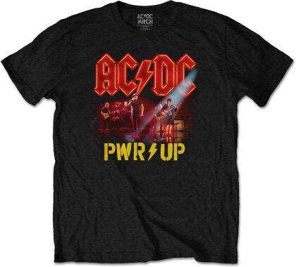 AC/DC Unisex Tee - Neon Live