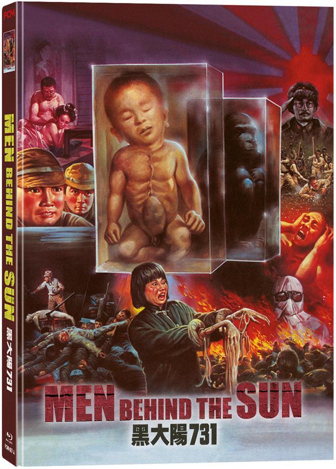 Men Behind The Sun (1988) (Wattiert, Edizione Limitata, Mediabook, Blu-ray + DVD)