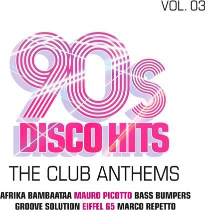 90s Disco Hits Vol.3-The Club Anthems (2 CDs)
