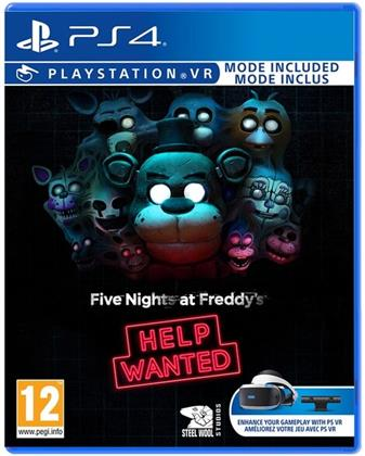 Five Nights at Freddys Help Wanted VR