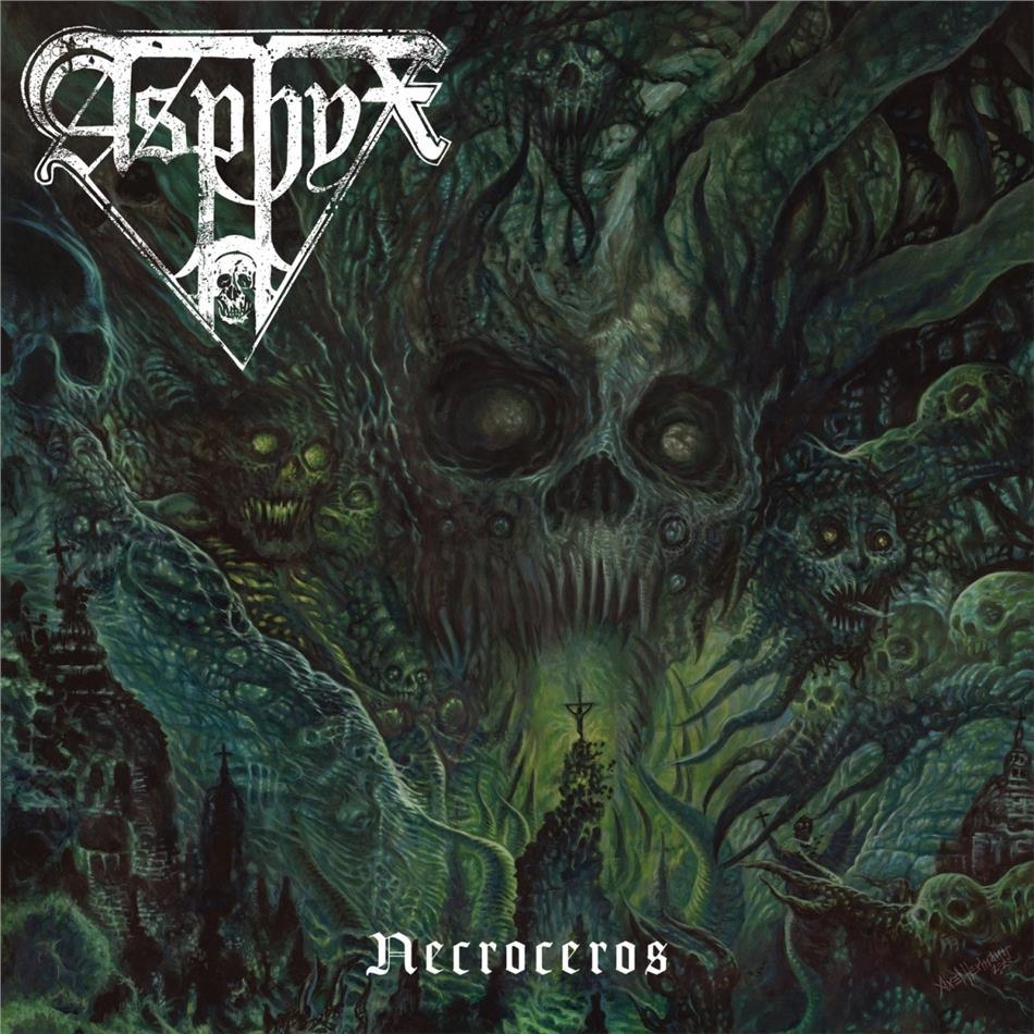 Asphyx - Necroceros (Poster, LP)