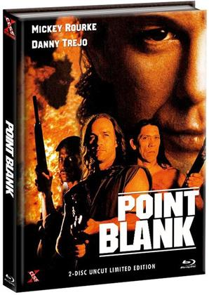 Point Blank (1998) (Cover A, Limited Edition, Mediabook, Uncut, Blu-ray + DVD)