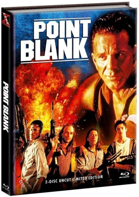 Point Blank (1998) (Cover C, Limited Edition, Mediabook, Uncut, Blu-ray + DVD)