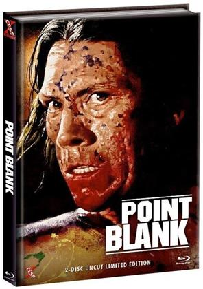 Point Blank (1998) (Cover D, Limited Edition, Mediabook, Uncut, Blu-ray + DVD)