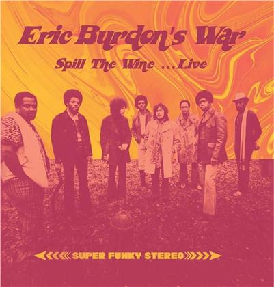 Eric Burdon's War - Spill The Wine- Live (LP)