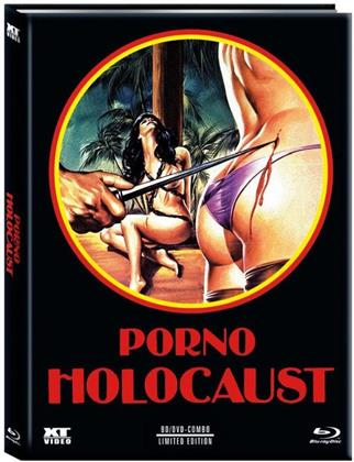 Porno Holocaust (1981) (Cover B, Limited Edition, Mediabook, Blu-ray + DVD)