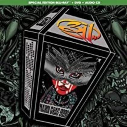 311 - Mardi Gras 2020 (Blu-ray + DVD + CD)