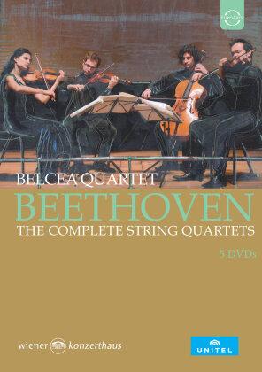 Belcea Quartet - Sämtliche Streichquartette (5 DVD)
