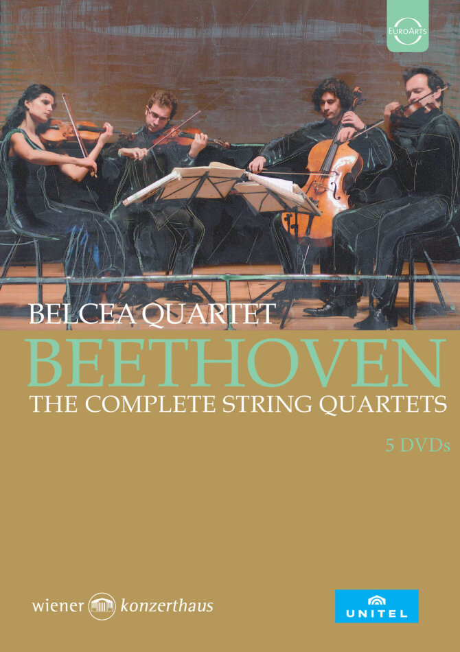 Belcea Quartet - Sämtliche Streichquartette (5 DVDs)