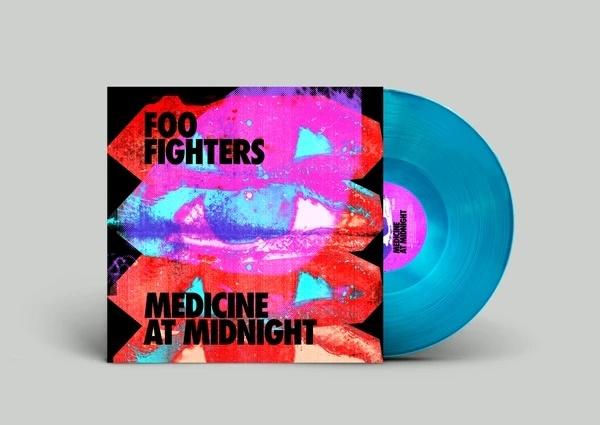 Foo Fighters - Medicine At Midnight - (Blue Vinyl Edition) (140 Gramm, Limited Edition, Blue Vinyl, LP)
