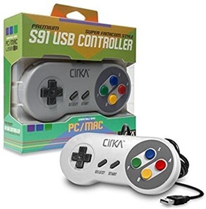 Cirka S91 Premium Super Famicom USB Controller