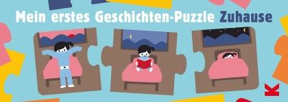 Mein erstes Geschichten-Puzzle: Zuhause - 5x3 Teile
