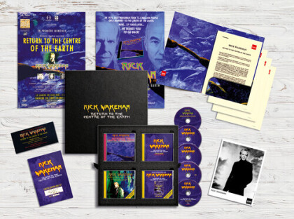 Rick Wakeman - Return To The Earth (Boxset, CD + DVD)