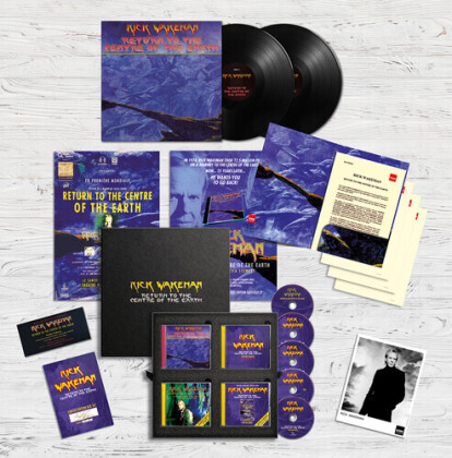 Rick Wakeman - Return To The Earth (2 LPs + CD)