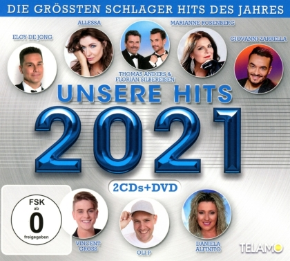 Unsere Hits 2021 (CD + DVD)