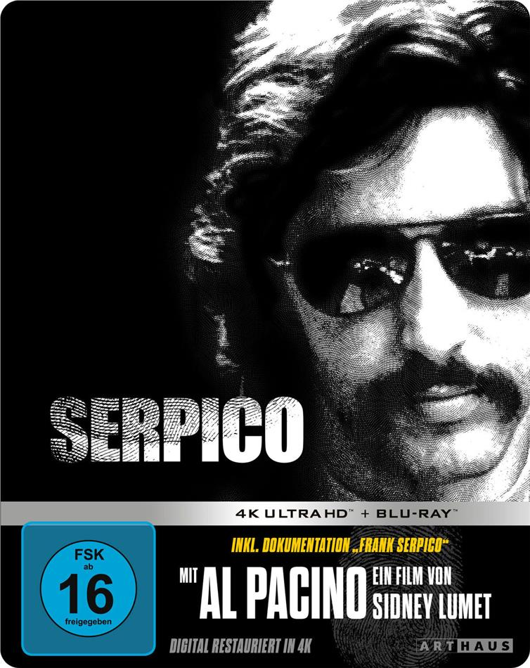 Serpico (1973) (Limited Edition, Steelbook, 4K Ultra HD + Blu-ray)