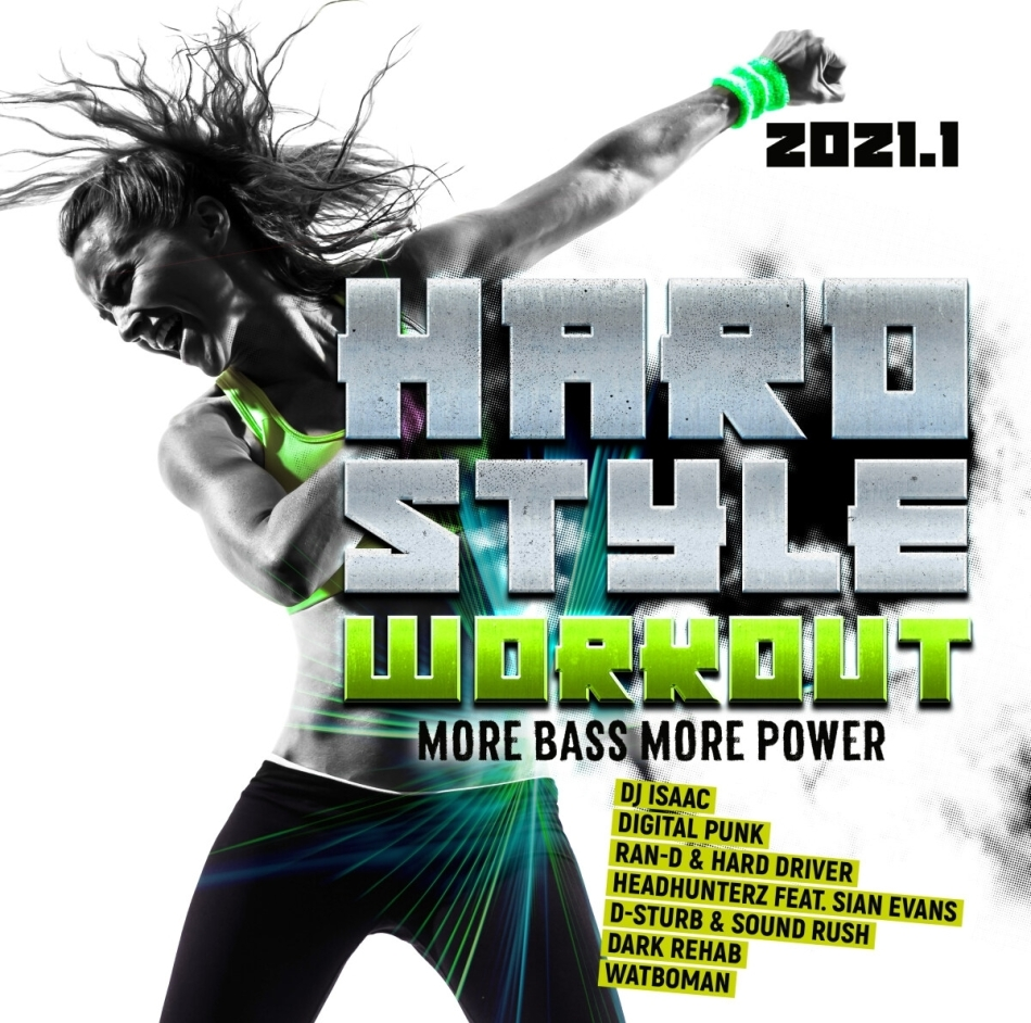 Hardstyle Workout 2021.1 - More Bass, More Power (2 CDs)