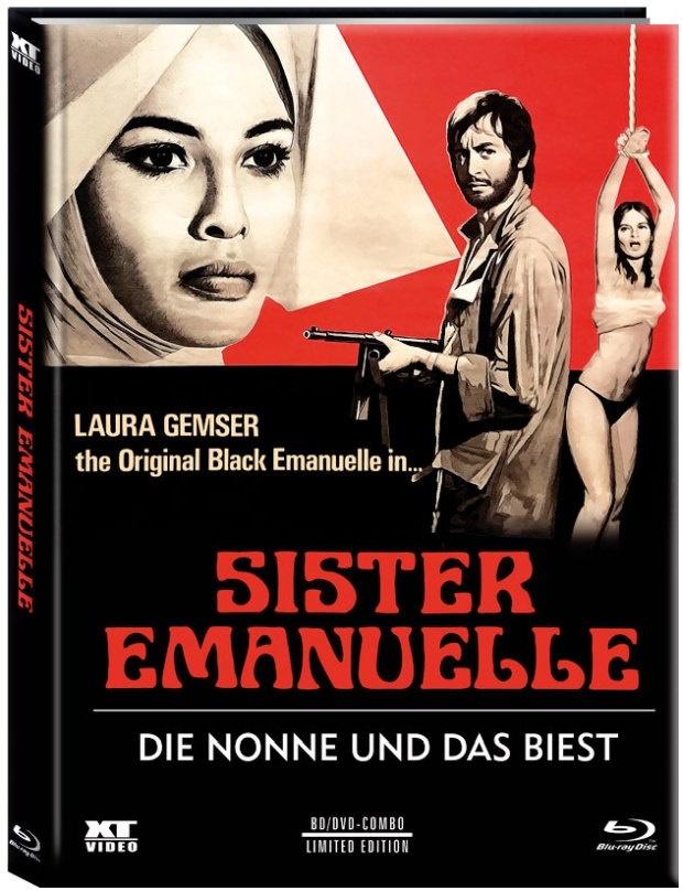 Sister Emanuelle - Die Nonne und das Biest (1977) (Cover C, Limited Edition, Mediabook, Blu-ray + DVD)